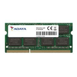 ADATA 8GB, DDR3L, 1600MHz (PC3-12800), CL11, SODIMM Memory *Low Voltage 1.35V*